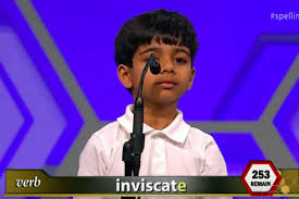 this six year old was the first star of the 2016 national spelling