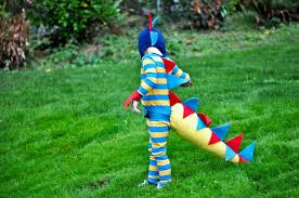 Child Dinosaur Halloween Costume Craftionary