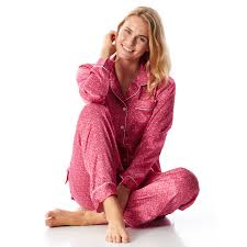 women u0027s liberty print silk pyjamas more colours by pj pan