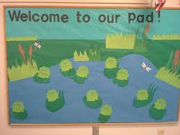 Preschool Bulletin Board Decorations Best 25 Frog Bulletin Boards Ideas On Pinterest Bullentin