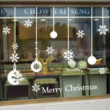 Christmas Decorations Online Mumbai by Best 25 Christmas Window Stickers Ideas On Pinterest Window
