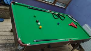 snooker table tennis table hypro 6ft x 3ft folding snooker pool table with additional table