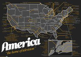 Show Map Of The United States by John Gushue Dot Dot Dot Infographics