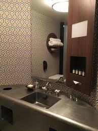 Roxy Room Decor Hip Cool Decor Even In The Bathroom Picture Of The Roxy Hotel