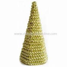 Christmas Decorations Wholesale From China by Wholesale Rope Garland Cutting Tinsel Cone Tree Suitable For