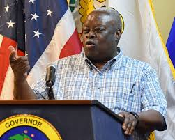 St Thomas Flag Mapp Holds First Press Conference On St Thomas News