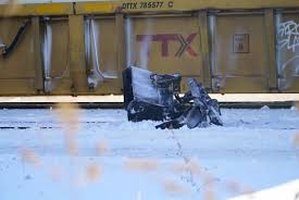 train likely couldn u0027t stop in time to save snowplow driver former