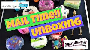 halloween scrub the philly fyzzlers u0026 mad and mac halloween unboxing bath bomb