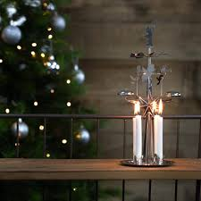 traditional swedish chimes candle holder carousel