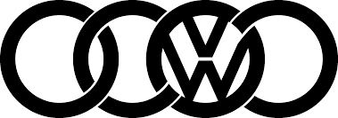 volkswagen group logo audi vw logo sticker jpg 2426 853 cool cars pinterest