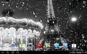 rainy paris live wallpaper android apps on google play