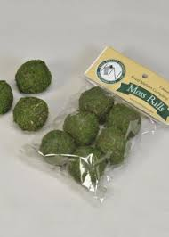 green moss balls preserved wedding greenery afloral