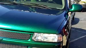 Blue Green Paint by Flip Flop Paint On A Tahoe Youtube