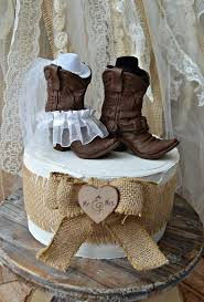 cowboy wedding cake toppers western cowboy boots wedding cake topper western wedding western