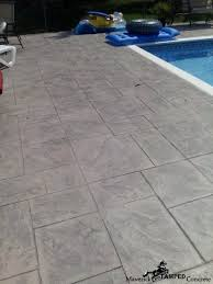 Stamped Concrete Patio Maintenance Stamped Concrete Offers Low Maintenance Maverick Stamped Concrete