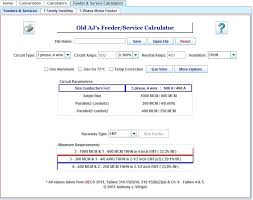 Conduit Fill Table Electrical Wire Sizing Calculator Power Cable Size Calculator Free