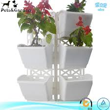 creative flower plant pots planters foldable disassembled for