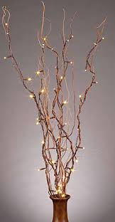 Decorative Lights For Vases Best 25 Twig Lights Ideas On Pinterest Tree Branch Decor