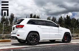 jeep custom wheels jeep grand cherokee srt on black custom wheels by exclusive
