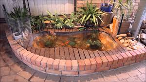 outdoor living recycling tubs fish ponds small plastic pond tubs