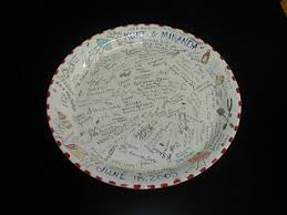 guest book platters guest book platters