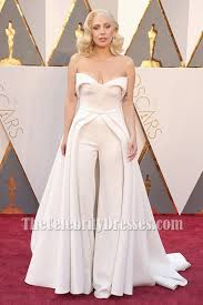 jumpsuits for evening wear gaga ivory strapless backless formal jumpsuit evening dress