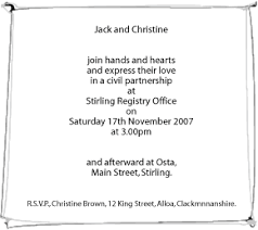 wedding ceremony invitation wording wording bay attic page 3