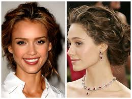 medium length hairstyles for heart shaped face ways to style medium length hair updos 2017