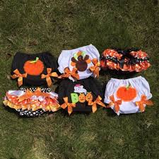 baby girls bloomers thanksgiving halloween bloomers baby bloomer