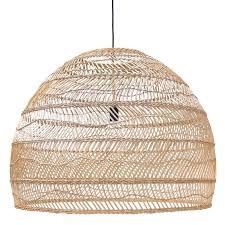 hk living extra large rattan shade 699 80d x 80h lighting