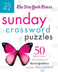 the new york times sunday crossword puzzles volume 42 50 sunday