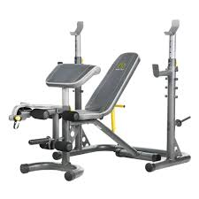 gold u0027s gym xrs 20 rack and bench ggbe1486 the home depot