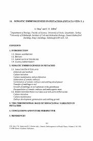 Building Maintenance Job Description Resume by Somatic Embryogenesis In Pistachio Pistacia Vera L Springer