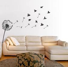 dandelion wall sticker by oakdene designs notonthehighstreet com dandelion wall sticker