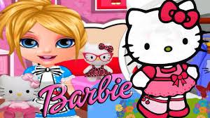 baby barbie kitty costumes cute dress game girls