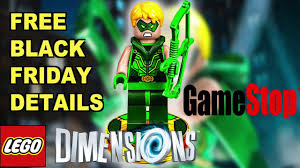lego black friday lego dimensions black friday free green arrow at gamestop youtube