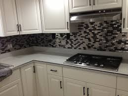 stainless steel and crackled glass mosaic mix emt w1219 mix sm