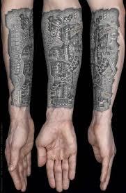 impressive forearm tattoos for