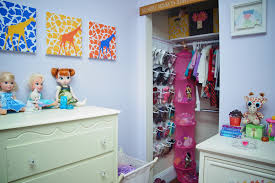 organizing a child u0027s closet what u0027s pink purple u0026 giraffe