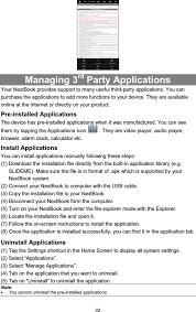 nextbook next7p next7p nextbook android mid user manual users manual shenzhen