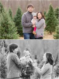 family holiday photos at lone silo tree farm nj mini sessions