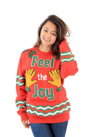feel the groping tacky sweater