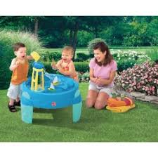 step2 busy ball play table sand water play axi
