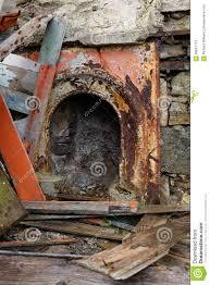 vintage fireplace surround stock image image 30847713