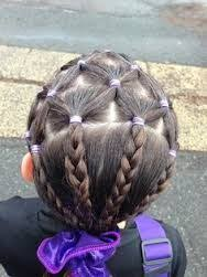 gymnastics picture hair style gymnastics hair ideas google search hairstyles for you