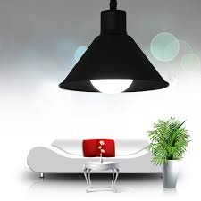 aliexpress com buy e27 e26 modern black pendant lights for