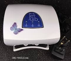 gelish uv led nail lamp gel nails