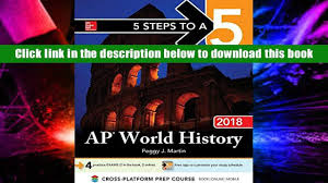 ebook online 5 steps to a 5 ap world history 2018 edition 5