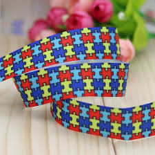 grosgrain ribbon wholesale buy autism ribbon and get free shipping on aliexpress