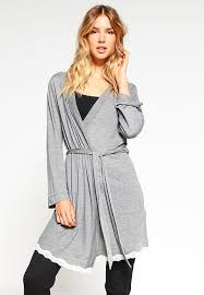 robe de chambre etam vêtements femme mode etam meryl robe de chambre gris